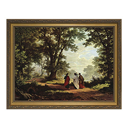 Framed Picture of Road to Emmaus NW-625