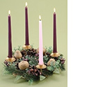 "Advent Wreath for Home 14"" 24119"