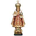 "Infant of Prague 11"" Wood 254000"