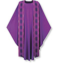 Chasuble with Terra Overlay Stole 3-3160