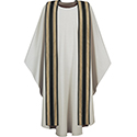 Chasuble & Stole Grey 3190