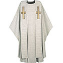 Chasuble & Stole Grey 3290