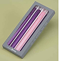 Advent LED Wax Set of 4 Candles 35889