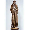 Statue St. Francis of Assisi Wood or Fiberglass 390/2