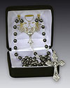 Communion Rosary Hematite 41435