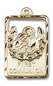 14kt Gold Communion First Reconciliation Medal 4201