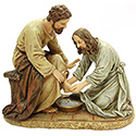 Statue of Jesus Washing of the Feet 45615