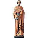 Statue St. Peter Wood or Fiberglass 508