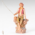 "Fontanini ® 12"" Jacob Fisherman 52909"
