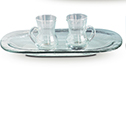 Cruet Set Glass 3740