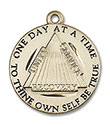 14kt Gold Recovery Medal 6086