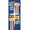 "Tapestry ""Let us Adore Him"" 4497"