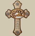 "Last Supper Cross 10"" 63403"