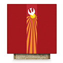 Holy Spirit Dove Altar Cover Red Pius 64-5115