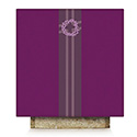 Crown of Thorns Altar Cover Purple Pius 64-5117