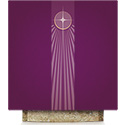 Advent Star Altar Cover Purple Pius 64-5120