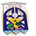 "First Communion ""Gates of Heaven"" Blue Banner Kit 653"