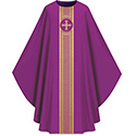 Chasuble Assisi with Woven Band Purple 701044