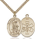 14kt Gold Filled Guardian Angel EMT Pendant 7118-10
