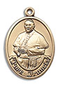 14KT Pope Francis Oval Medal 7451
