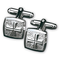 Cuff Links Sterling Silver 4813