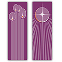 "Advent Banners 117"" x 39"""
