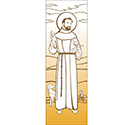 "St. Francis of Assisi 117"" x 39"" Banner 7147"