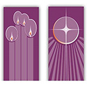 "Advent Banners 48"" x 24"""