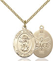14kt Gold Filled St. Michael EMT Pendant 8076-10