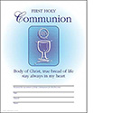 Certificate First Holy Communion 8797