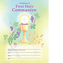 Certificate First Holy Communion 9327