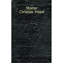 Shorter Christian Prayer Leather 408/13