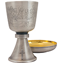 "Chalice & Ciborium ""Etched Collection"" A-2026"