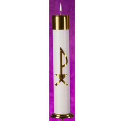 Refillable Christ Candle C14250