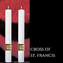 Cross of St. Francis™ Altar Candles The SCULPTWAX® Collection