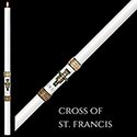Paschal Candle Cross of St. Francis™ 51% from The SCULPTWAX® Collection