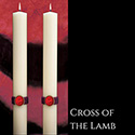 Cross of the Lamb™ Altar Candles The SCULPTWAX® Collection
