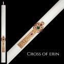 "Eximious® Hand Crafted ""Cross of Erin®"" Paschal Candle"