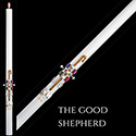 Paschal Candle The Good Shepherd™ 51% from The SCULPTWAX® Collection