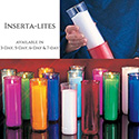 Inserta•lite® 3, 5, 6, & 7-Day Plastic Candles
