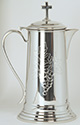 Flagon Pewter Engraved Grapes Design K310