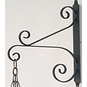 Wall Bracket Wrought Iron K4030
