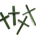 "Palm Crosses 5"" Package of 25 SPC"
