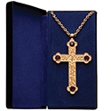 Pectoral Cross Amethyst PC-500G