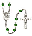 St. David of Wales 6mm Rosary R6000-8027