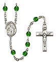 St. Gabriel the Archangel 6mm Rosary R6000-8039