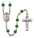 St. Lawrence 6mm Rosary R6000-8063