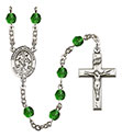 Angel de la Guardia 6mm Rosary R6000-8118SP