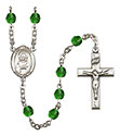 St. Lillian 6mm Rosary R6000-8226