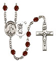 St. Christopher Basketball 6mm Rosary R6000-8153